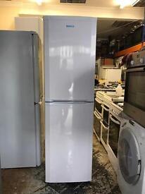 "Beko fridge freezer height 180""cm width 55""cm"