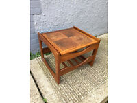 Beautiful solid wood retro G plan coffee table with tiles, excellent condition