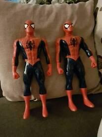 Spiderman walkie talkie figures
