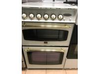 Parkinson Cowan Gas cooker (White and Gold)