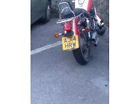 125cc motorbike Lifan king