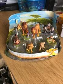 Genuine Disney Lion King Figures cake toppers