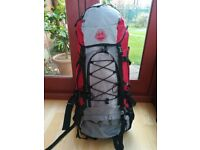 Large red rucksack (new)