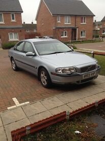 volvo s80 2.4 petrol auto.. 1 keeper from new