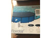 BRAND NEW 2x BESTWAY 10ft POOL COVERS