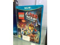 Nintendo WiiU game - lego Movie