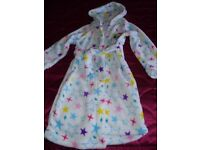 girls my little pony dressing gown, age 5 - 6