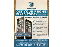 iPhone iPad Screen Repairs Whilst You Wait *Headingley Leeds*No Fix No Fee*Professional Technicians