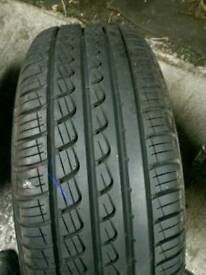 205 55 16 91V Pirelli p7 brand new it's been a spare wheel