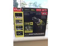 Ryobi One+ 18V hammer drill Brand new