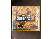 Nintendo 3DS New Super Mario Bros 2 Game Brand New
