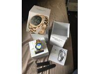 Michael Kors smart watch Gold