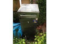 Foster commercial stainless steel fridge