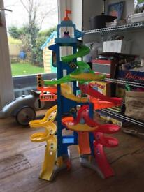 Fisher Price little people skyway tower