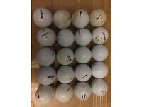 20 Used Golf Balls Nike Pinnacle Dunlop Top Flite etc