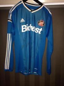 Autographed Sunderland football shirt