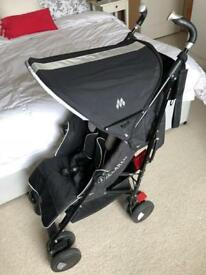 Maclaren Techno XT pushchair with accessories