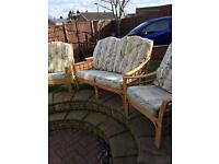 Conservatory furniture wicker
