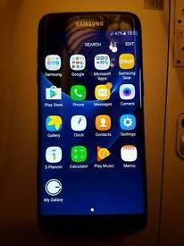 Samsung Galaxy S7 Edge Black smartphone
