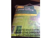 Crop (and pond) netting 4 m x 2 m