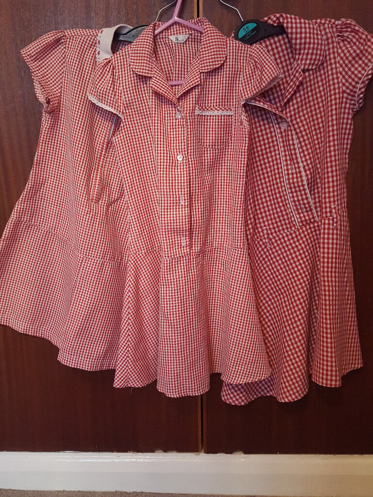 3 school uniform dressesin Brighton, East SussexGumtree - 3 school dresses for girl 4 6 in good condition nice and clean!
