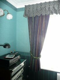 Superior quality lined Skopos curtains