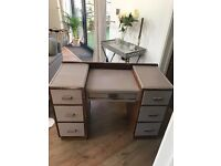Vintage Annie Sloan painted dresser/desk