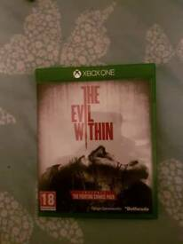 Xbox one game The Evil within