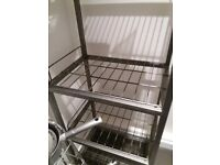 Very sturdy rack great for tools and storage in the garage