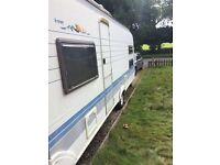 Hobby prestige 560 6 berth caravan