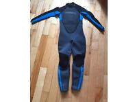 Child's O'Neil wetsuit 3/2 size 12