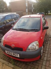 Toyota Yaris Gs in mint condition