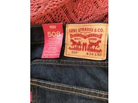 Levi's 508. 34w 30l. Brand new with tags.