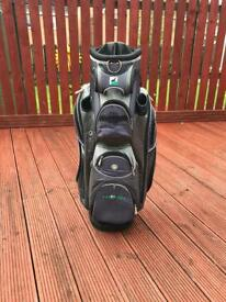HillBilly Golf Trolley Bag w/ rain hood