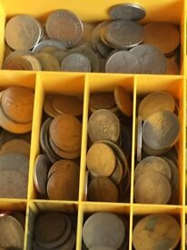 Coin collection,500 mixed world,uk,vintage ,modern