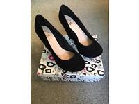 Ladies wedge heels Size 40. Miss KG Black