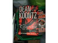 Dean Koontz Hardback Book From the Corner of His Eye - Perfect Condition