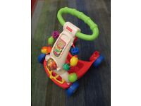 Fisher Price push along activity baby Walker