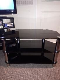 Used Glass TV Stand