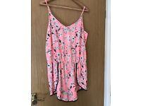 Gorgeous pink jump suit /dress