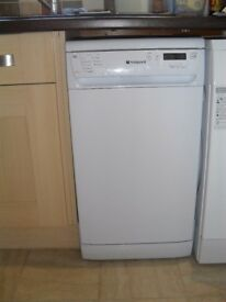 Hotpoint SSD910P Slimline Dishwasher in excellent condition