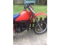 Rare Honda CR80 1986 Motorcross bike