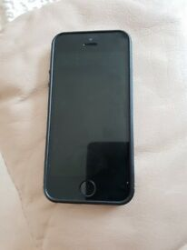 iphone 5s space grey with black rubber case 16gb