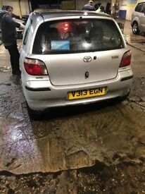 TOYOTA YARIS 2000, GREAT CONDITION, £1,550
