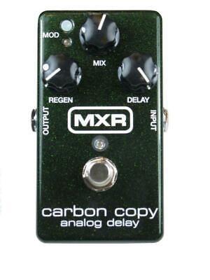 Jim Dunlop MXR Carbon Copy Analog Delay Guitar Effects Pedal - M169