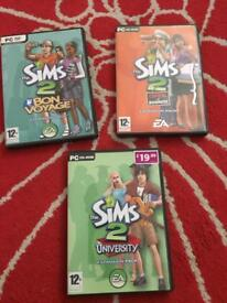 The sims x3 pc games £5