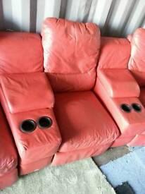 Cinema sofa.