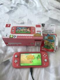 Nintendo Switch Lite in Coral