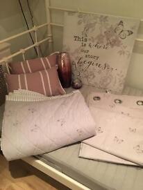 Purple bedroom set