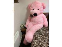 6FT pink teddy bear